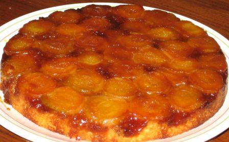 gateau aux abricots (sans oeufs) - cuisinanou